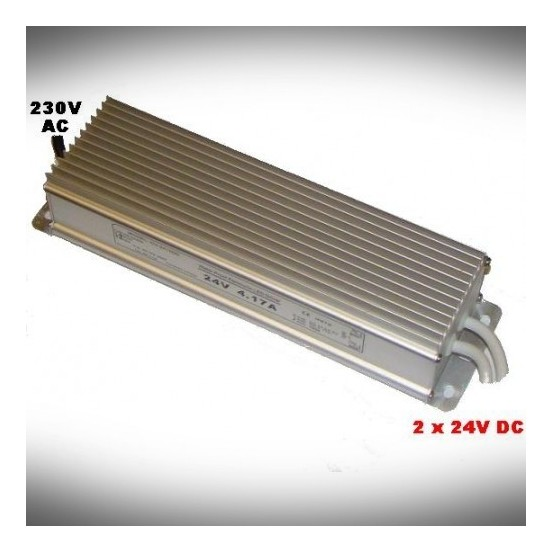 TRANSFORMATOR 24V 100W DC